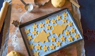 Biscuits de Noël pour chiens